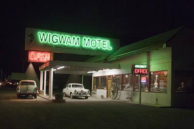 Wigwam Motel In Holbrook Poster by Carol M Highsmith