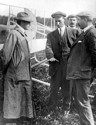 Wilbur Wright, 1908 Poster