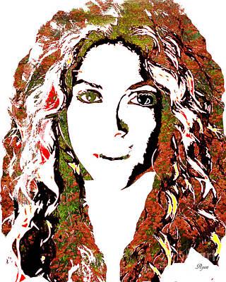 Wild Art Shakira Poster
