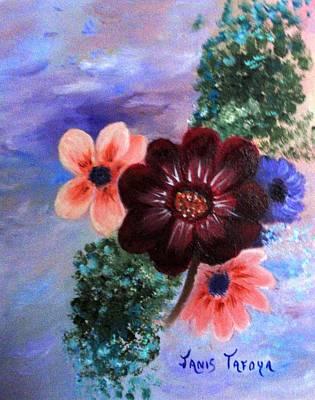 Wild Flowers Poster by Janis  Tafoya