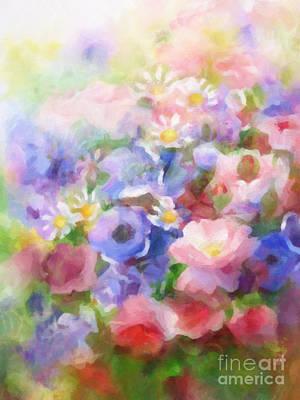 Wild Flowers Poster by Lutz Baar