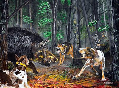 Wild Hog Hunt Poster