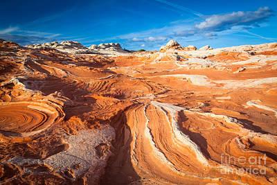 Wild Sandstone Landscape Poster by Inge Johnsson