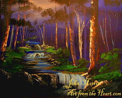 Wilderness Forest Poster by John Morris