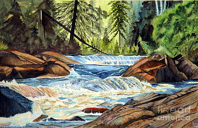 Wilderness River I Poster
