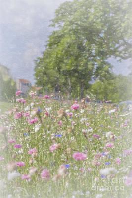 Wildflower Impressionism Poster