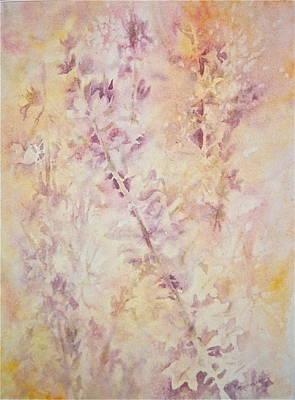 Poster featuring the painting Wildflowers Three by Carolyn Rosenberger