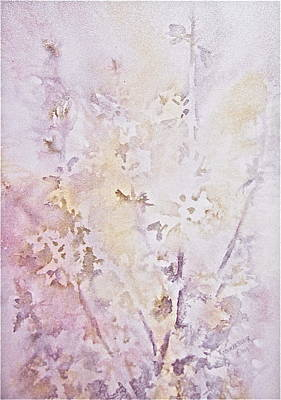 Poster featuring the painting Wildflowers Two by Carolyn Rosenberger