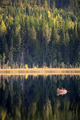 Wilgress Lake British Columbia Poster by Mary Lee Dereske