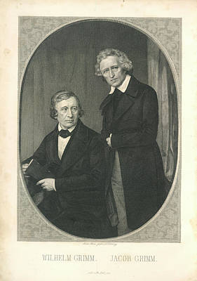 Wilhelm And Jacob Grimm Poster