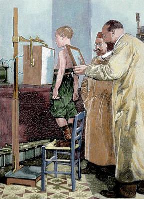 Wilhelm Conrad Rontgen (1845-1923 Poster
