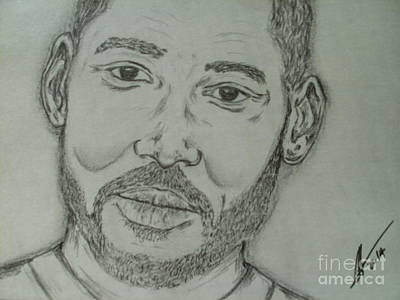 Will Smith Poster by Collin A Clarke