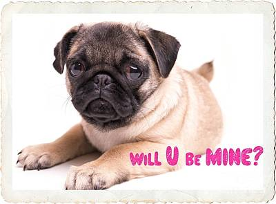Will U Be Mine? Poster by Edward Fielding