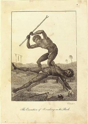 William Blake After John Gabriel Stedman Poster by Litz Collection