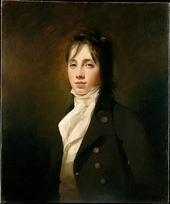 William Fraser Of Reelig 1784-1835 Poster by Sir Henry Raeburn
