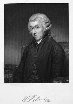 William Heberden (1710-1801) Poster by Granger