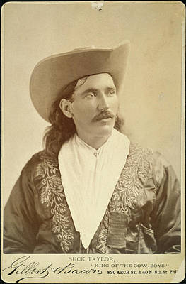 William Levi 'buck' Taylor (1857-1924) Poster