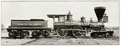 William Mason Locomotive Poster by Cci Archives