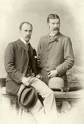 William Osler And Ramsay Wright Poster by National Library Of Medicine