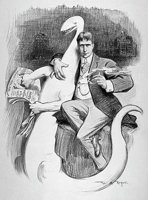 William Randoph Hearst (1863-1951) Poster
