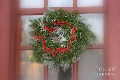 Williamsburg Wreath Poster