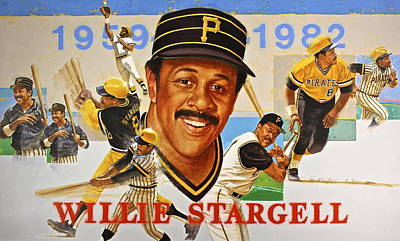 Willie Stargell Poster by Cliff Spohn