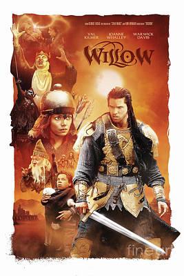 Willow Poster by Michal Lanczkowski