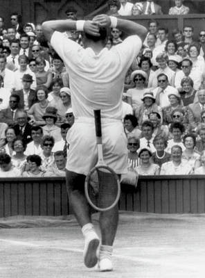 Wimbledon Win Poster by Underwood Archives