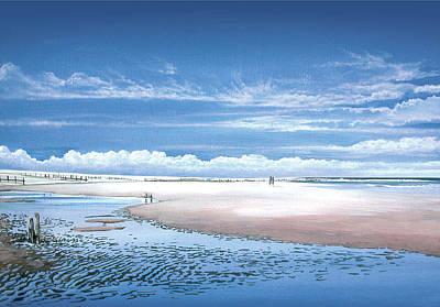 Winchelsea Beach Poster by Steve Crisp