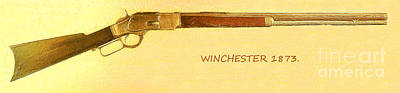 Winchester 1873 Poster by Odon Czintos