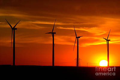 Poster featuring the photograph Wind And Solar 1 by Jim McCain