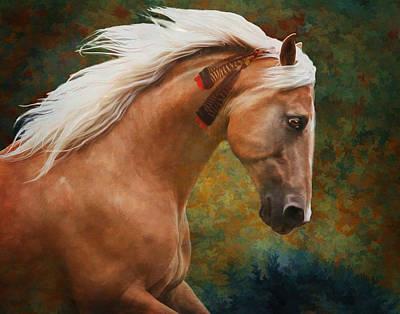 Wind Chaser Poster by Melinda Hughes-Berland