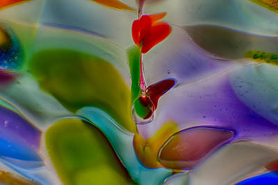 Wind Flower Poster