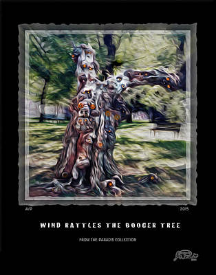 Wind Rattles The Booger Tree Poster by Joe Paradis