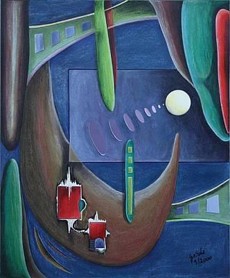 Windcatcher Poster by Gertrude Scheffler