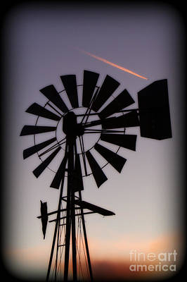 Poster featuring the photograph Windmill Close-up by Jim McCain