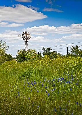 Windmill Poster by Mark Alder
