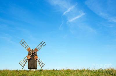 Windmill Portrait Poster by Kennerth and Birgitta Kullman