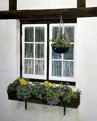 Window Box Poster by Tom Wooldridge