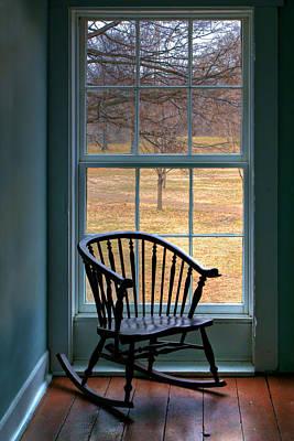 Window In Florissant Poster by Nikolyn McDonald