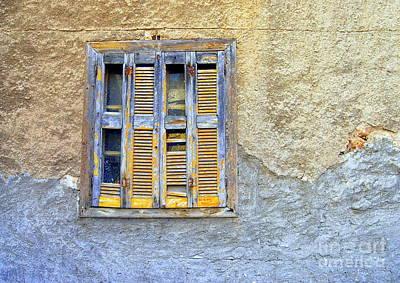 Window Nafplio Poster