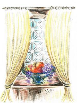 Window Of Fruit Poster