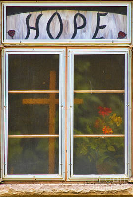 Window Of Hope Poster by James BO  Insogna