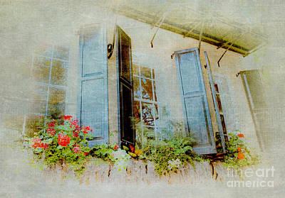 Window On The World Poster by Dan Carmichael