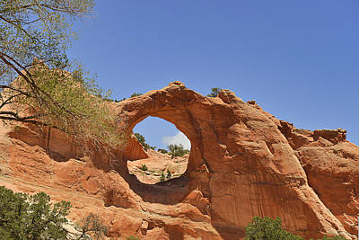 Window Rock Arizona Poster
