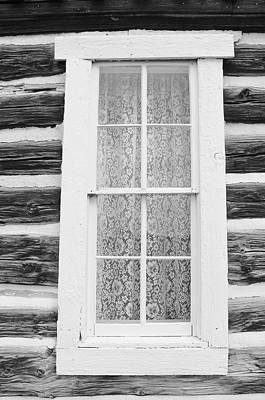 Poster featuring the photograph Window To The Old West by Diane Alexander