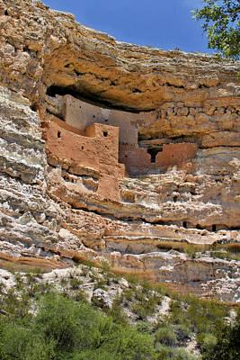 Window To The Past - Montezuma Castle Poster