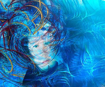Windstorm Woman Poster