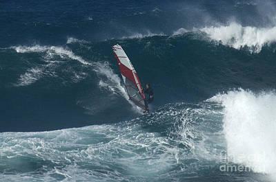 Windsurfer 2 Maui Poster by Bob Christopher
