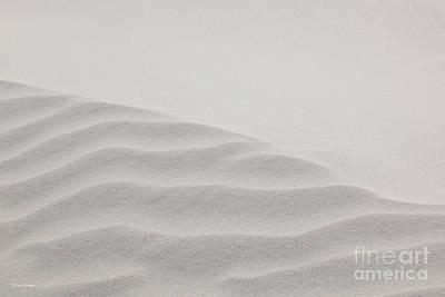 Windswept Sand Dune Poster